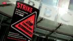 Video «Radio- und TV-Streik in Grossbritannien» abspielen