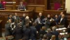 Video «Prügelei im ukrainischen Parlament» abspielen