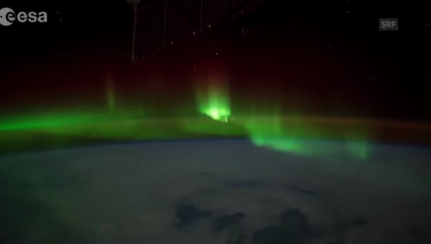 Video «Das Naturspektakel «Aurora borealis»» abspielen