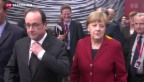 Video «Merkel dämpft Griechenlands Hoffnung auf schnelles Geld» abspielen