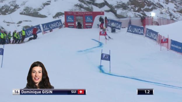 Video «Ski Alpin: Weltcup Kühtai, Riesenslalom Frauen, Zusammenfassung 1. Lauf» abspielen