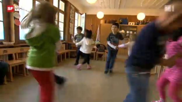 Video «Mundart in Zürcher Kindergärten» abspielen