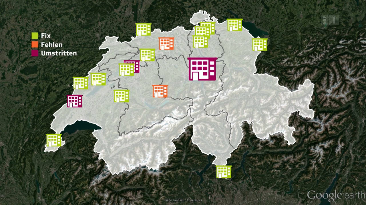 Willkommenskultur: Kantone buhlen um ein Asylzentrum