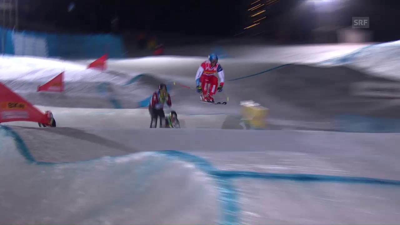 Die Fahrt von Romain Détraz zum 1. Weltcupsieg