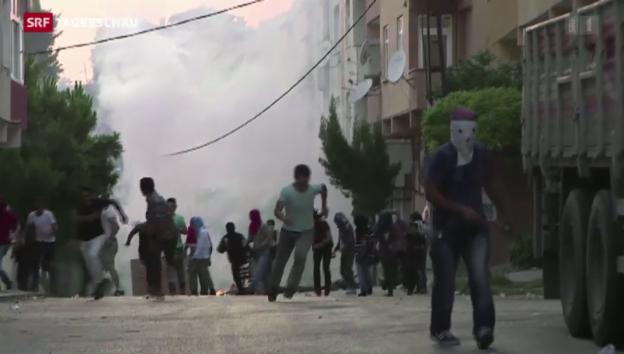 Video «Schwere Ausschreitungen in der Türkei» abspielen