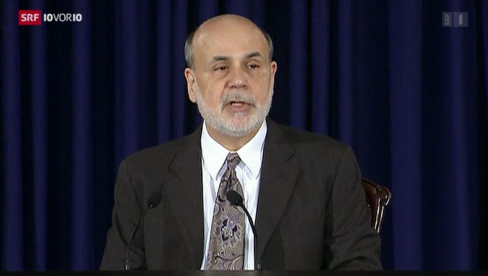 Fed drosselt Anleihenkäufe