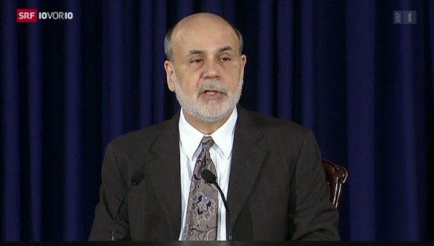 Video «Fed drosselt Anleihenkäufe» abspielen