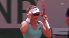 Video «Entscheidende Punkte bei Stosur - Safarova» abspielen