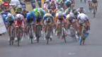 Video «Rad: Die 1. Etappe der Tour de France» abspielen