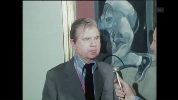 Video «Interview Francis Bacon (Tagesschau, 6.5.1975)» abspielen
