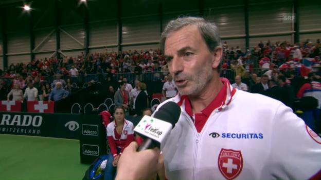 Video «Heinz Günthardt: «Unser Weg ist noch nicht zu Ende»» abspielen