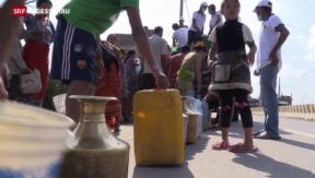Video «Erdbebenopfer in Nepal setzen auf Selbsthilfe» abspielen