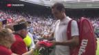 Video «Federer in Wimbledon» abspielen