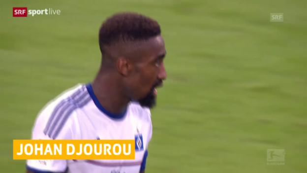 Video «Fussball: Bundesliga, Djourou mit Faserriss» abspielen