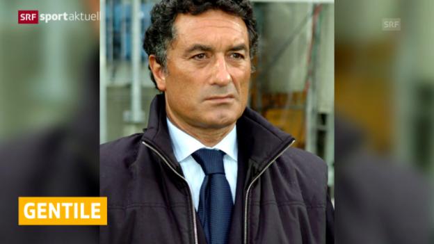 Video «Gentile übernimmt den FC Sion» abspielen