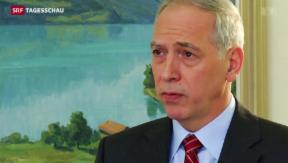 Video «Jacques de Wattewille soll Bern und Brüssel versöhnen» abspielen