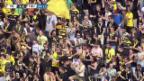 Video «Fussball: Die Tore bei YB - Thun» abspielen