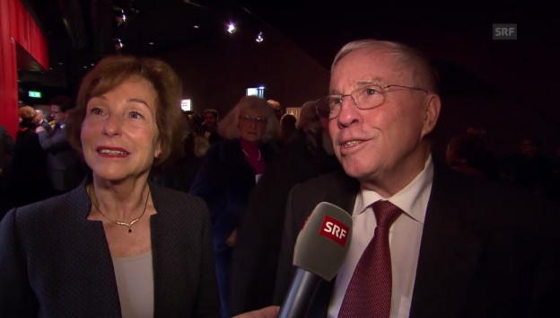 Video «Christoph und Silvia Blocher und die Sache mit dem Velo» abspielen