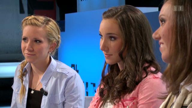 Aita, Elisa und Selina Gasparin