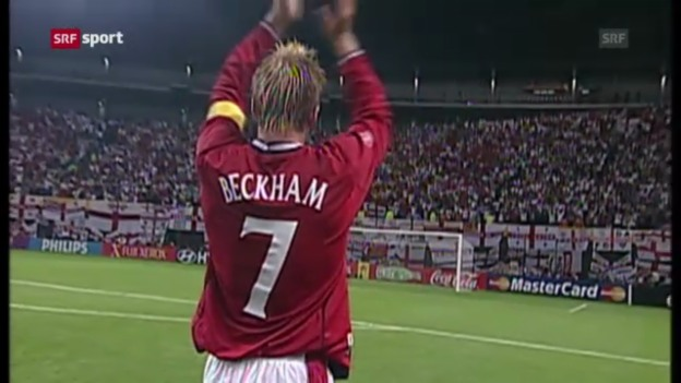 Video «David Beckham gibt Rücktritt bekannt» abspielen