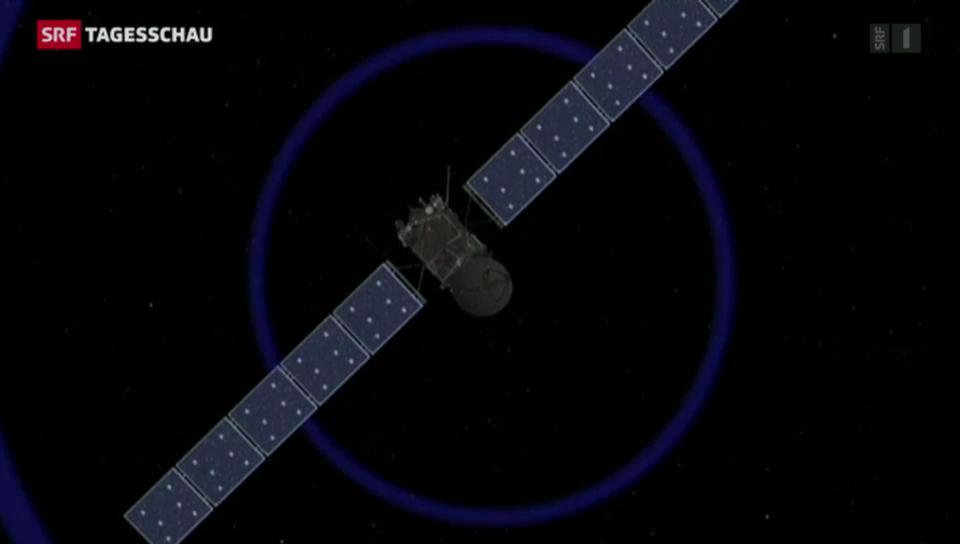 Rosetta liefert Daten nach Bern