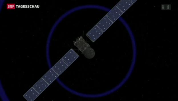 Video «Rosetta liefert Daten nach Bern» abspielen