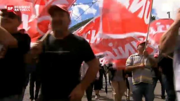 Video «Swissmetal in Dornach vor dem Aus?» abspielen