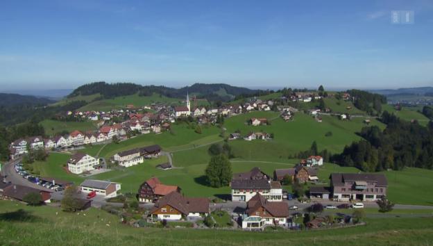 Video ««SRF bi de Lüt - Unser Dorf» (1/4): Zu Gast in Schwellbrunn» abspielen
