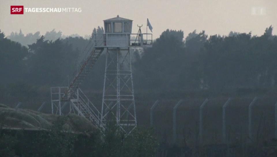 Feuergefechte auf den Golanhöhen