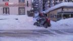 Video «Davos versinkt im Schnee – eine Woche vor dem WEF» abspielen