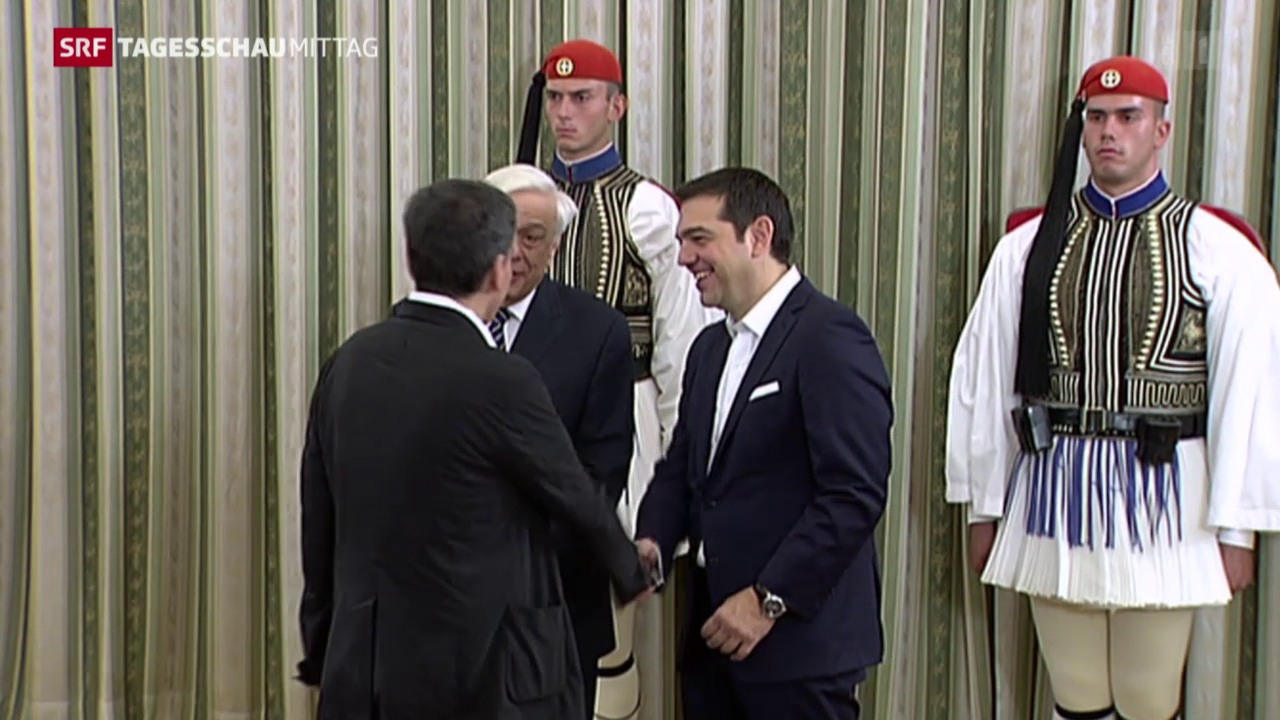 Neues altes griechisches Parlament