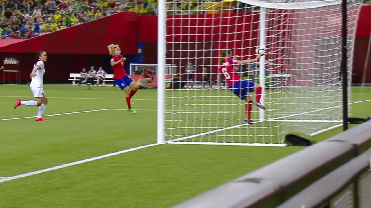 Fussball: Frauen-WM, Südkorea - Costa Rica