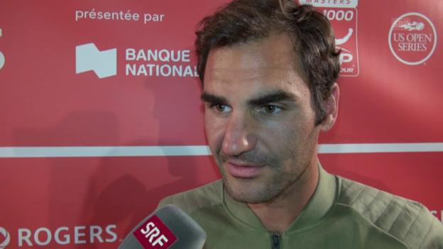 Video «Federer nach Sieg: «Abwarten und Tee trinken»» abspielen