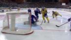 Video «Spengler Cup: Highlights Mannheim - Davos» abspielen