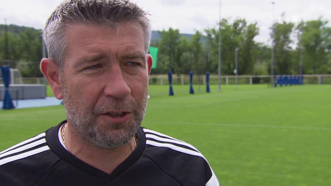 Fussball: Urs Fischer im Interview