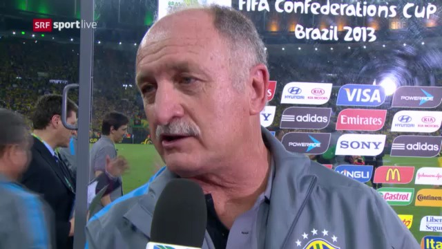 Luiz Felipe Scolari im Interview (portugiesisch)