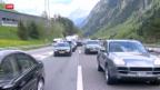 Video «Stau am Gotthard: Alle Jahre wieder» abspielen