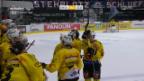 Video «Bern siegt bei Klote unspektakulär mit 2:0» abspielen