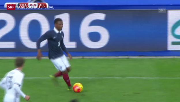 Video «Während Länderspiel: Bomben explodieren neben «Stade de France»» abspielen