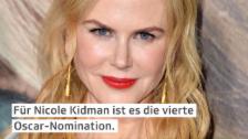 Video «Nicole Kidman mit «Lion» für Oscar nominiert» abspielen