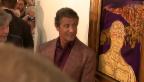 Video «Sanft: Action-Star Sylvester Stallone als Maler» abspielen
