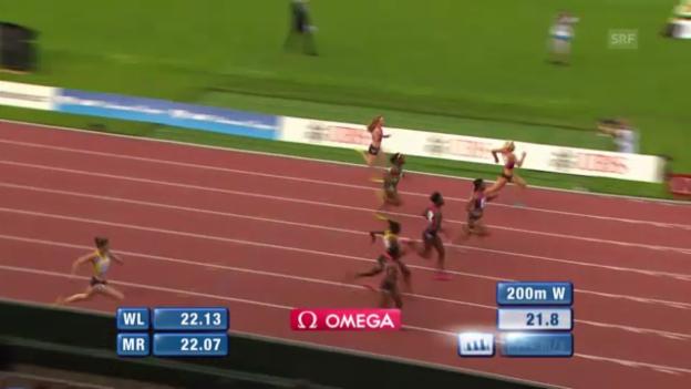 Video «200 m Frauen» abspielen