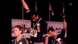 Video «Black Power Salute: Die politische Protestaktion vor 50 Jahren» abspielen