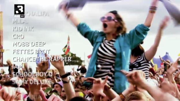 Video «Der Festivalsommer bei SRF 3» abspielen