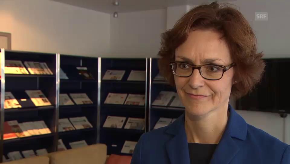 Monika Rühl: «Sind zufrieden mit dem Resultat»