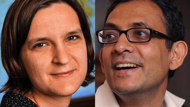 Video «Mit Methode die Armut besiegen: Esther Duflo und Abhijit Banerjee» abspielen