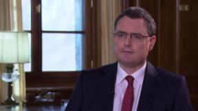 Video «SNB-Präsident Thomas Jordan im «ECO»-Interview» abspielen