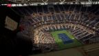 Video «Tennis: «Wahnsinn» an den US Open» abspielen