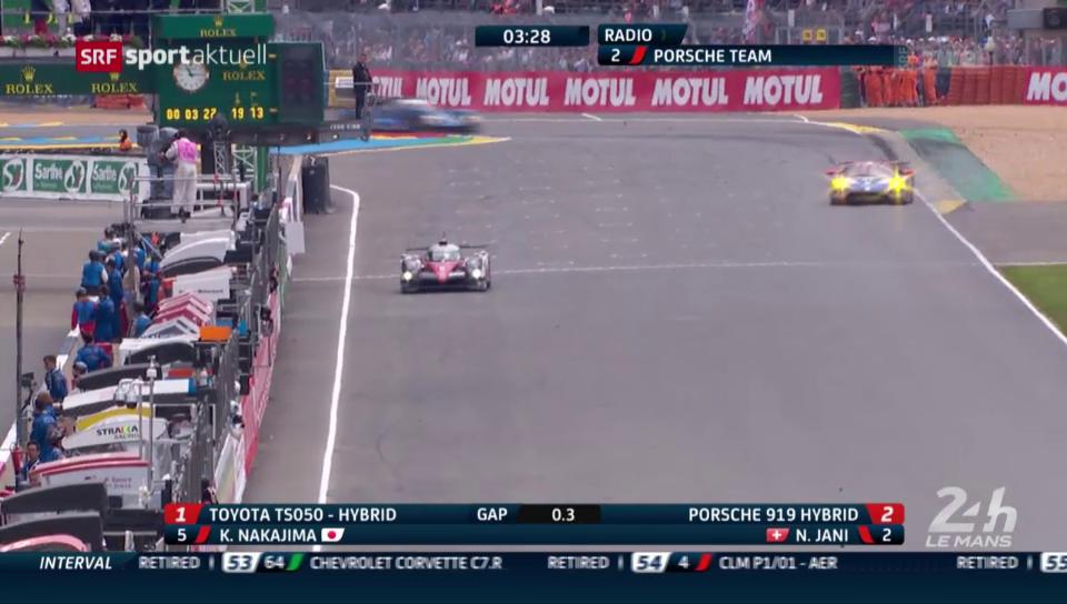 Der dramatische Finish bei Le Mans 2016