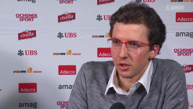 Video «Skispringen: Medienkonferenz Simon Ammann» abspielen